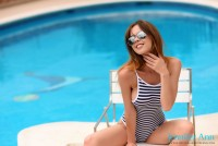 Poolside Model Jennifer
