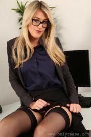 Secretary Shows Big Ass